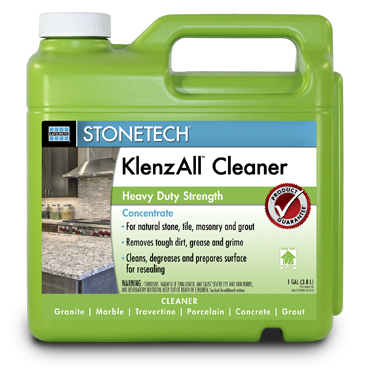 StoneTech™ Klenz-All™ Heavy Duty Stone, Tile & Grout Cleaner and Degreaser